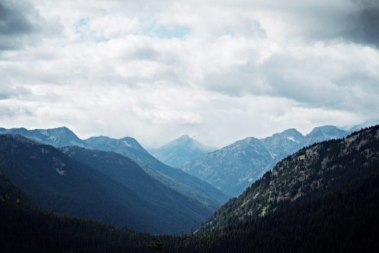 inspirational mountains peaks